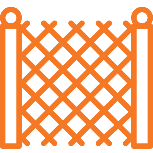 Temporary Fencing Icon