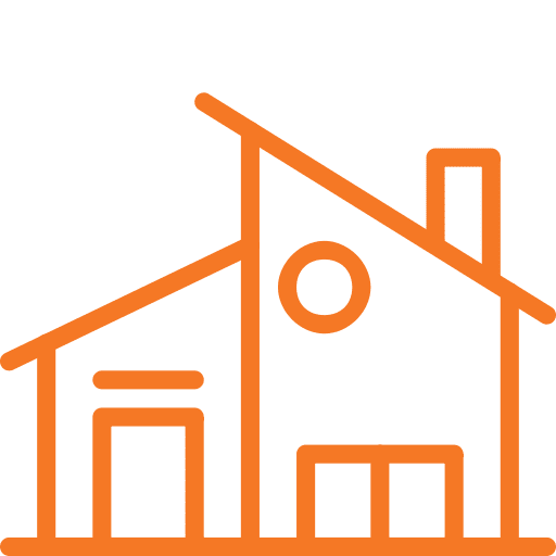 House Shrink Wrap Icon
