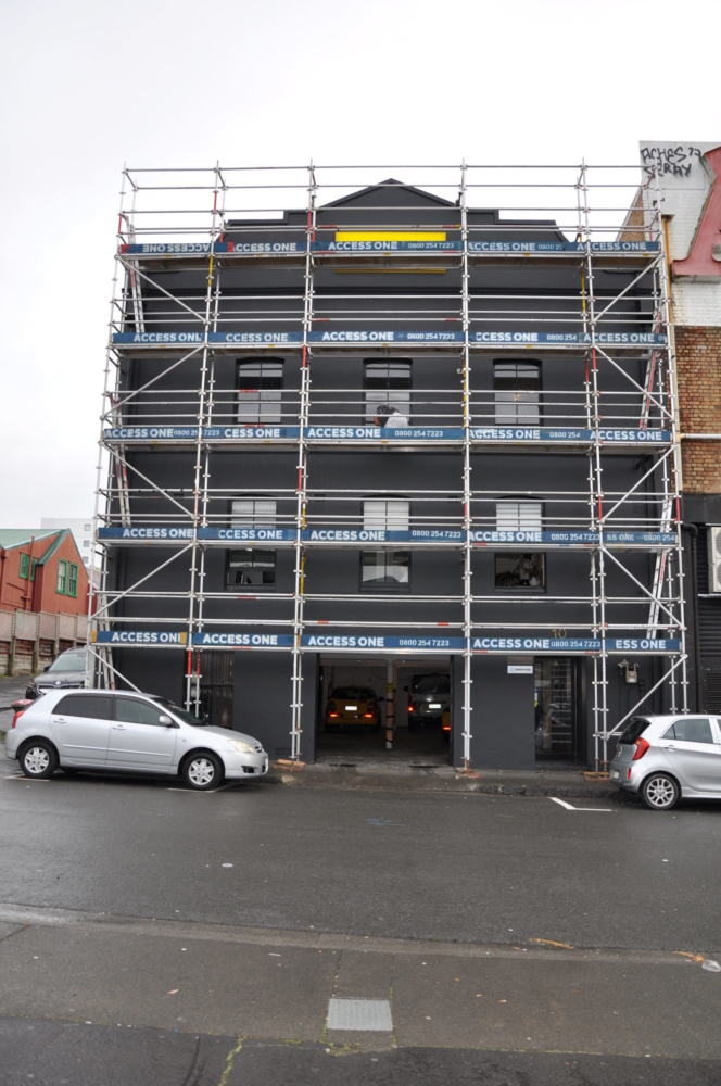 Small Scale Commercial Scaffolding by Access One