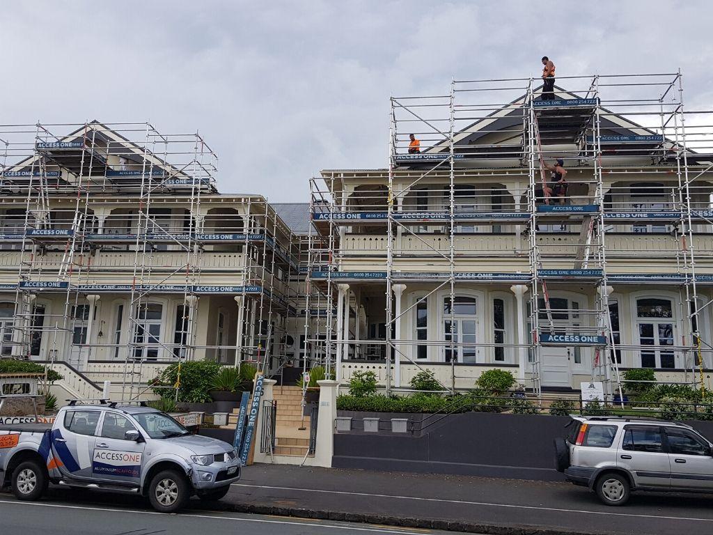 Aluminium Scaffolding Auckland