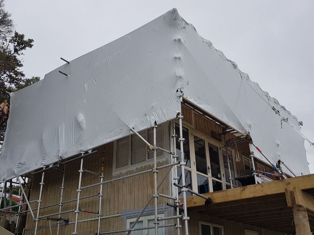 Building Wrap Shrink Wrap Auckland NZ