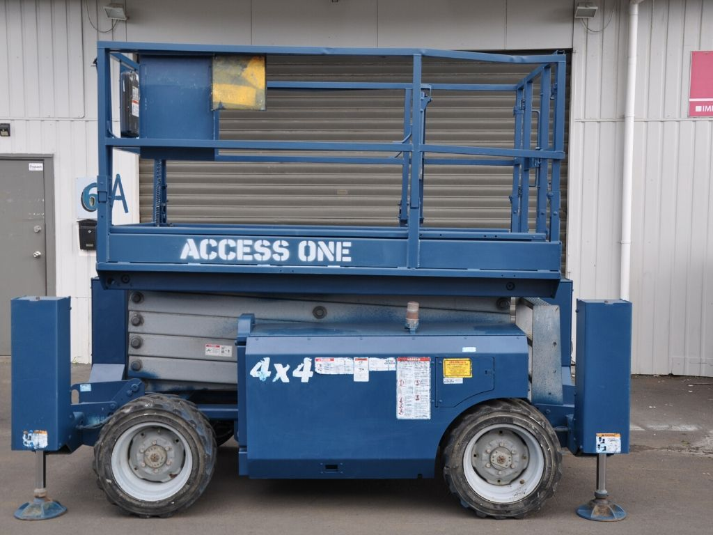 Access One Machine Hire Electric Scissor Hoist