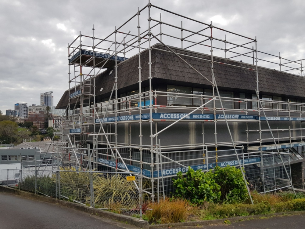 Residential Scaffolding for Renovations