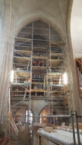 Holy Trinity Cathedral Interior Scaffolding by Access One
